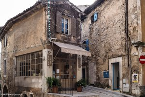 Alte Fassade in Gordes